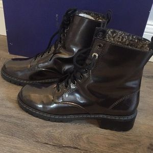 ec42025ba5 Stuart Weitzman Shoes - Stuart Wietzman moto boots size 8